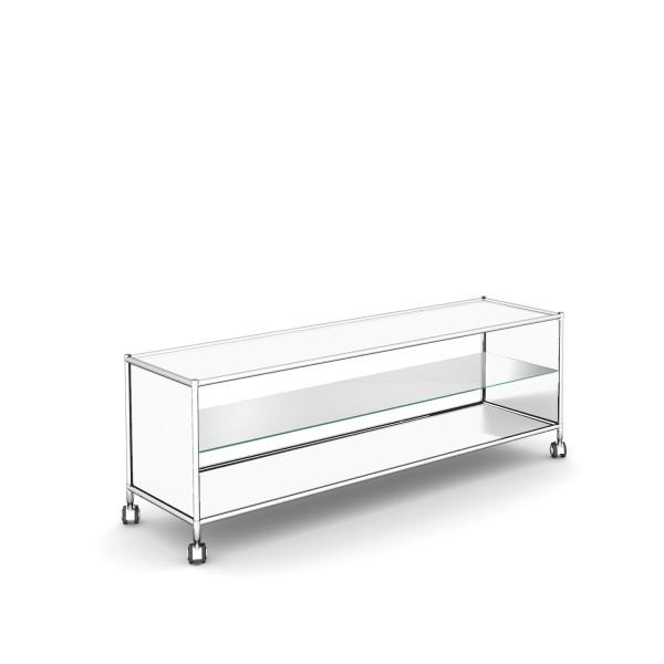 TV / HiFi Möbel mit Glasplatte