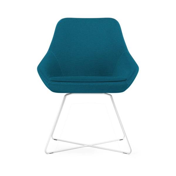 Calyx Loungesessel blau, Bezug Step