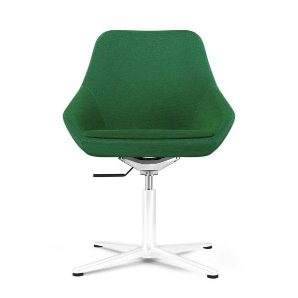 Calyx Loungesessel grün, Bezug Step